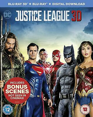 AU14.54 • Buy Justice League 3D Blu-ray   Blu-ray   Digital Download