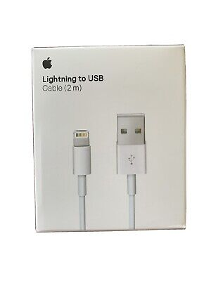 AU19.95 • Buy 2m Lightning Charger Cable Compatible Genuine Apple IPhone 5 6 7 S 8 X IPad