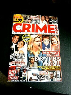 Crime Monthly Magazine Issue 19 October  (new) 2020 • 3.90£