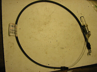 MTD Lawnmower Throttle Cable 746-04437 • 6.49£