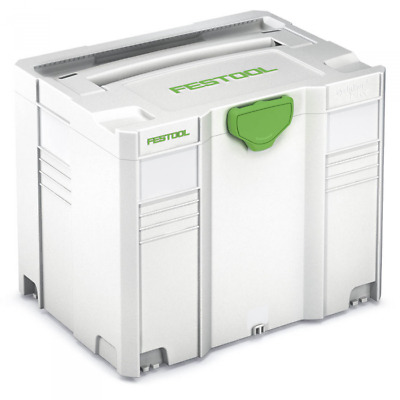 £127.35 • Buy Festool Sys 4 T-loc Storage Box Systainer 497566
