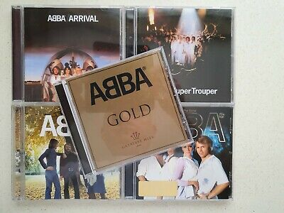 Collection Of 5 Classic Abba Cd Albums  • 7.95£