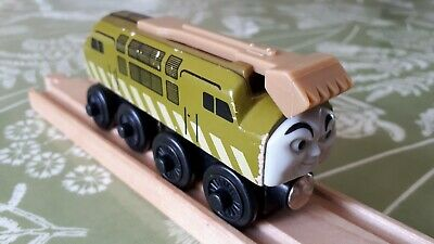 Brio/ELC Style Wooden Devious Diesel 10, Thomas And Friends Wooden Railway • 7.99£