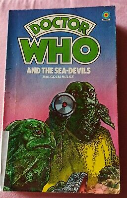 DOCTOR WHO And The Sea-Devils Malcolm Hulke 2nd Impression 1979 Target Paperback • 0.99£