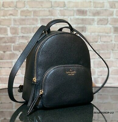 $ CDN157.08 • Buy KATE SPADE NEW YORK JACKSON MD PEBBLED LEATHER BACKPACK SHOULDER BAG $359 Black