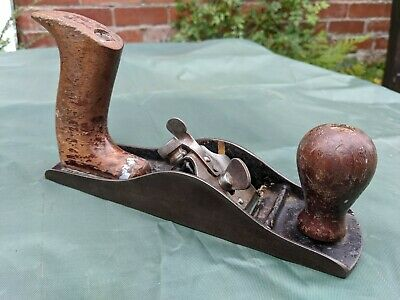 Vintage Smoothing Plane - Woodwork Hand Tool • 3.99£