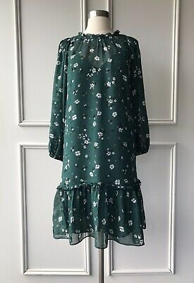 AU69.95 • Buy | COUNTRY ROAD | Floral Print Dress Forest Green | NEW | SIZE: 6,8,10,12 |