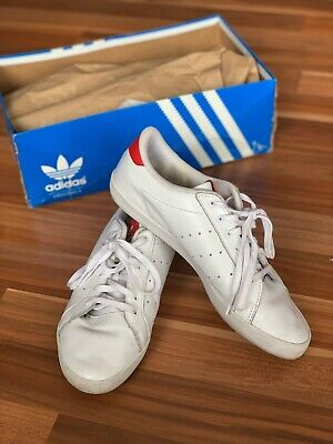 AU30 • Buy Adidas Originals Stan Smith 40 Red White Leather Sneakers US8