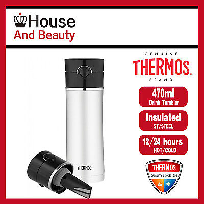 AU33.99 • Buy Brand New Thermos Vacuum Insulated Drink Bottle With Tea-Infuser 470ml