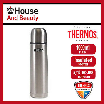 AU30.99 • Buy NEW Thermos THERMOcafe S/Steel Slimline 1.0 Litre Vacuum Insulated Flask