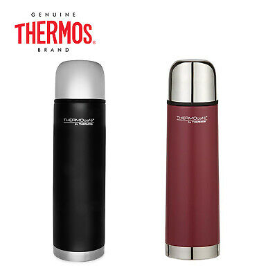 AU24.99 • Buy New THERMOS Thermocafe Vacuum Insulated Slimline Flask 500ml Black Red