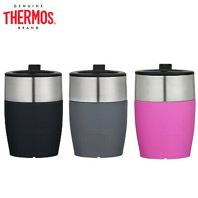 AU21.69 • Buy New THERMOS THERMOcafe S/Steel Vacuum Insulated Double Wall Coffee Cup 230ml