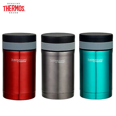 AU27.99 • Buy New THERMOS S/Steel Vacuum Insulated Food Jar 500ml W/ Spoon Red Smoke Teal