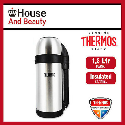 AU41.99 • Buy Thermos THERMOcafe S/Steel Vacuum Insulated Food & Drink Container Flask 1.8L