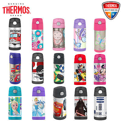 AU26.59 • Buy THERMOS Funtainer Kid Stainless Vacuum Flask Insulated Hydration Bottle 355ml