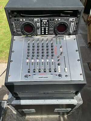 Pioneer CMX-3000 & Allen & Heath Xone:62 DJ Mixer In Custom Flight Case • 379.99£