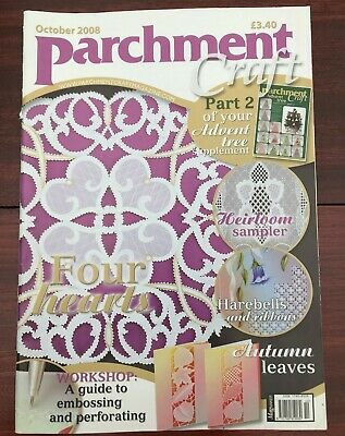 Parchment Craft Magazine Back Issues • 3£