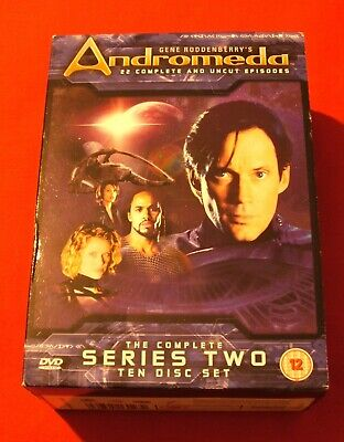 Andromeda Complete Series Two Dvd • 7.99£