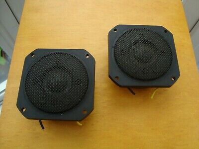 Pair Of Yamaha NS10 NS-10M TweetersJA0518 Used Fully Working Very Good Condition • 149£