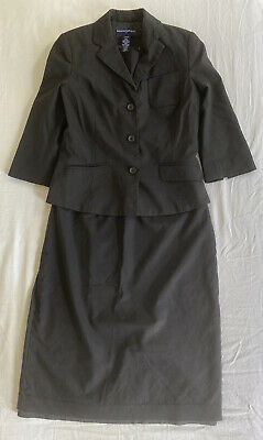 BANANA REPUBLIC Dress And Jacket Work Suit - Size 10 • 5£