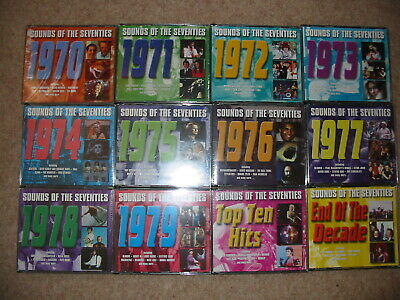 Readers Digest Complete 12 X 3CD Sounds Of The Seventies 70s Pop Rock Hits • 350£