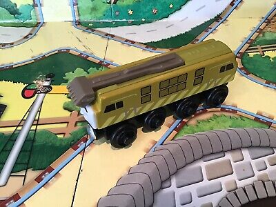 Thomas The Tank Engine Brio/ELC Style Wooden Trains Devious Diesel 10 • 11.75£