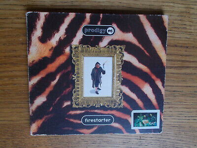 The Prodigy Firestarter 1996 CD Single In Very Good Condition • 1.25£
