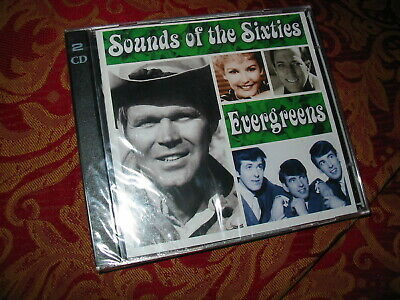 Time Life NEW SEALED Sounds Of The Sixties Evergreens 2CD Set Of 60s Pop Hits  • 85£