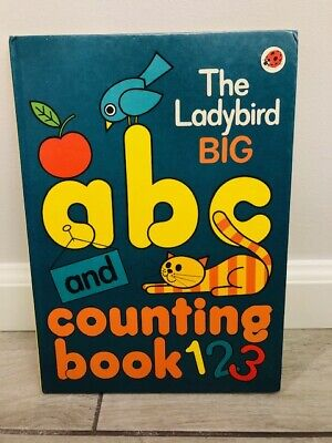 £5.66 • Buy Vintage 1979 The Ladybird Big ABC And Counting Book - Printed In England - EUC!