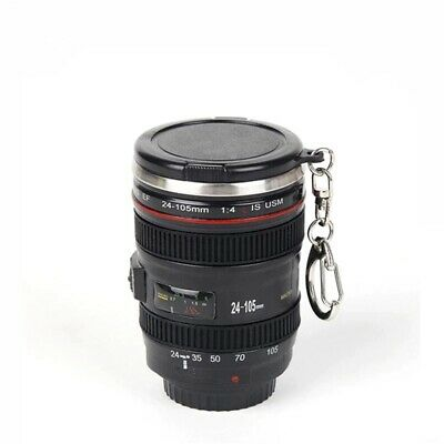 £7.19 • Buy Coffee Mug Travel 60ML Camera Lens Stainless Steel Outdoor Camping Hiking Picnic