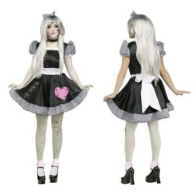 £16.99 • Buy Broken Rag Doll Costume - Scary Fancy Dress Halloween Party Zombie Outfit