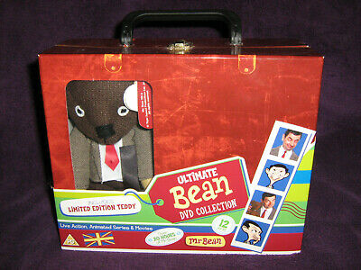 Mr. Bean Ultimate DVD Box Set Suitcase Edition TV, Movies, Animated, TY Teddy.  • 25£