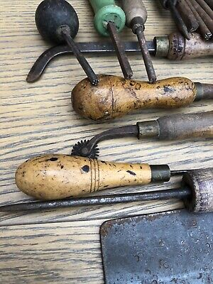 Vintage Leather Punch Tools Etc • 30£