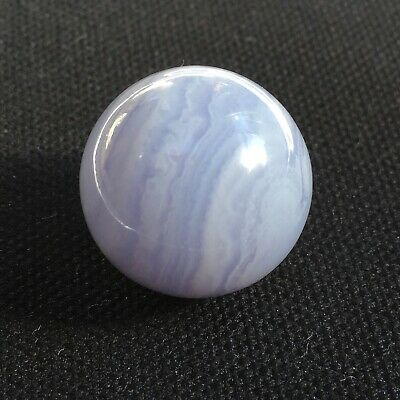 £8.95 • Buy Blue Lace Agate Baby Crystal Sphere/ Ball 20 Mm Perfect For Pocket Purse