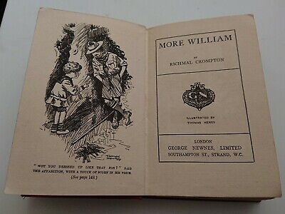 More William By Richmal Crompton 3rd Edition Feb, 1923, Hardback • 12£