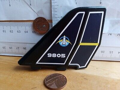 Playmobil New Top Rare Stickered Wing Shuttle-Leitwerk For Space Shuttle  • 5.90£
