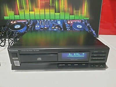 E81 Panasonic SL-PJ24A Compact Disk Player CD Great Condition Stereo Separates • 35.99£
