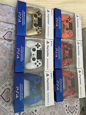 Sony Ps4 Dualshock Controller (brand New In Box) • 20£