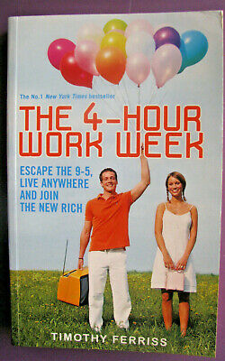 AU16.95 • Buy The 4-hour Work Week: Escape The 9-5 Live Anywhere Join The New Rich Tim Ferriss