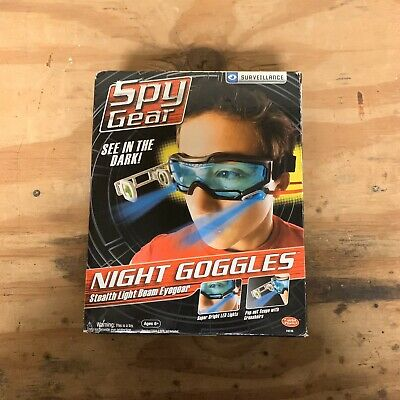 Spy Gear Brand Night Goggles Adjustable Head Strap 2 LED Lights See In The Dark • 21.72£