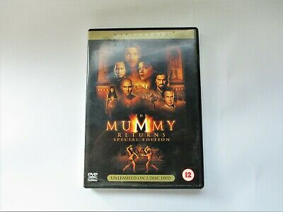 The Mummy Returns DVD (2001) 2 Discs Special Edition! Cert 12 • 1.79£