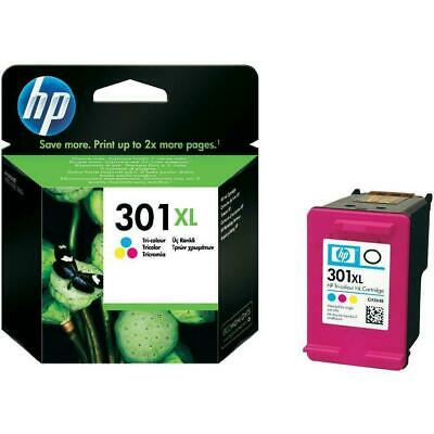 Genuine HP 301XL Colour High Capacity Ink Cartridge (CH564EE)   FREE 🚚 DELIVERY • 26.95£