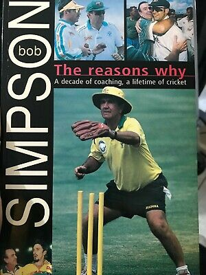 AU39 • Buy Cricket Book Signed By Bob Simpson