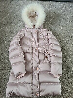 Baker By Ted Baker Pink Girls Padded Down Coat -  Age 12,152cms  • 15£