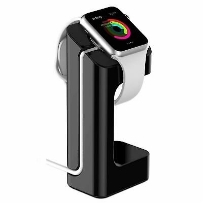 $ CDN8.95 • Buy For Apple Watch Series 1 2 3 Heavy Duty Charger Stand Holder Fr IWatch 38mm 42mm