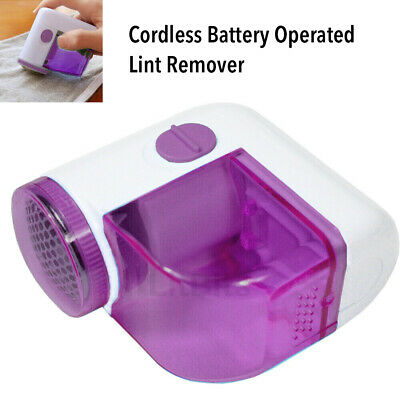Lint Remover Cordless Battery Operated Bobble Fabric Clothes Dust Debobbler • 5.99£