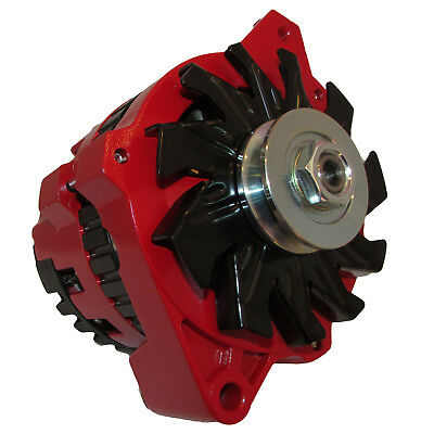 $ CDN194.25 • Buy New 220 Amp High Output Red Alternator For Gm Chevrolet 65-85 1-wire One Wire