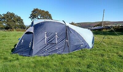 Gelert Satellite 6 Tent 6 Person Complete Ready To Use • 29£