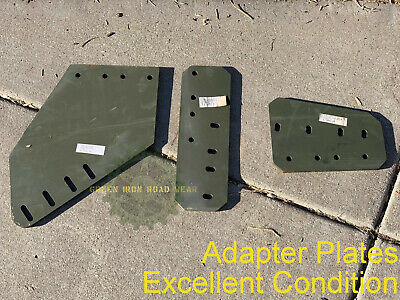 $250 • Buy NOS M66 Gun Ring Leg Mount Adapter Plates, Military Vehicle EXCELLENT Condition