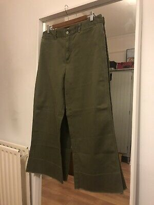Gap Khaki Cropped Trousers • 1£